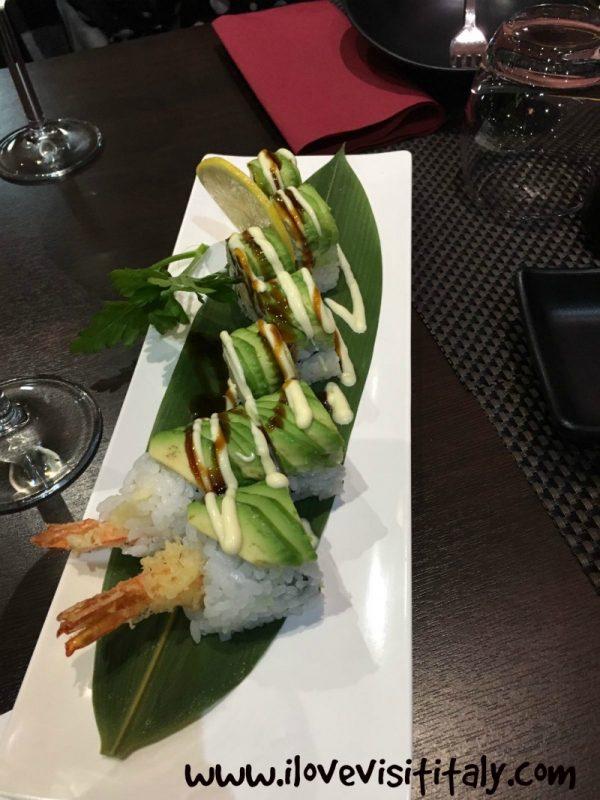 mangiare sushi a lanciano
