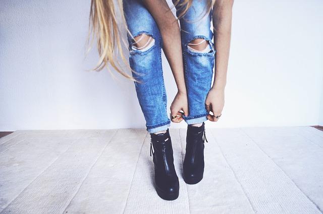 ankle boots e vestiti