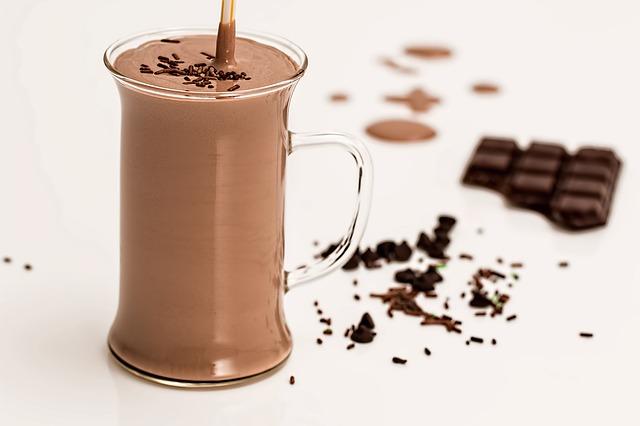 ricetta smoothie al cioccolato