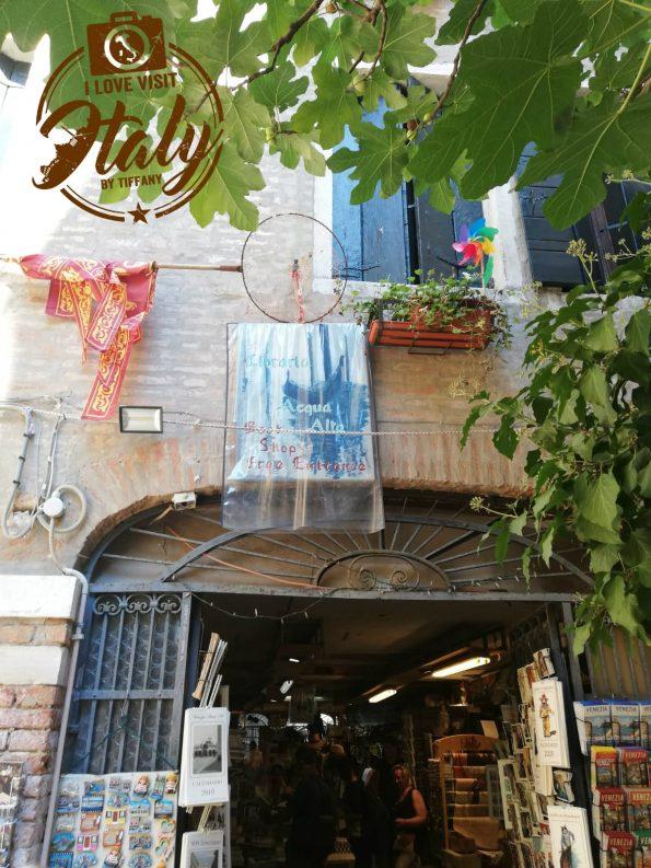 dove si trova libreria acqua alta a venezia