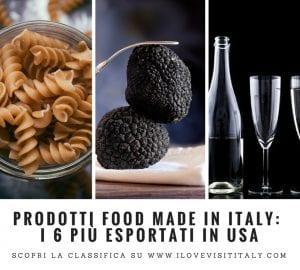 export prodotti made in italy in usa