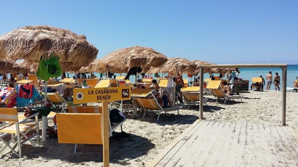 lido beach lecce
