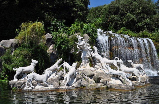 fontane Reggia di Caserta