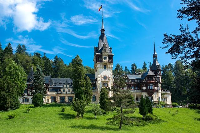 Monti Carpazi a Bresov in Transilvania