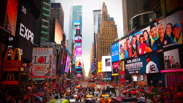 Times Square a New York dove si trova