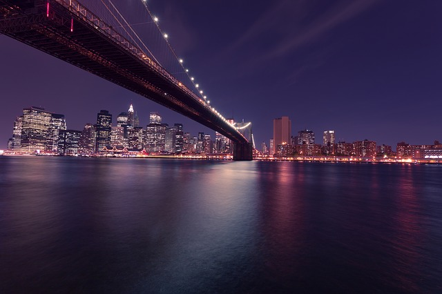 ponte di Brooklyn a New York dove si trova