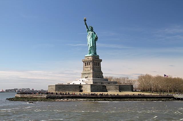 statua della libertà dove si trova