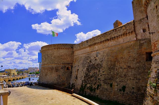 come arrivare al castello di Gallipoli